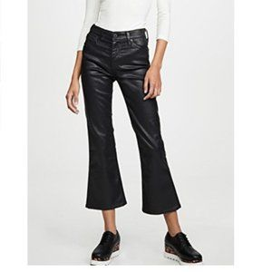 AG Goldschmied Quinne hi-rise cropped flare jeans